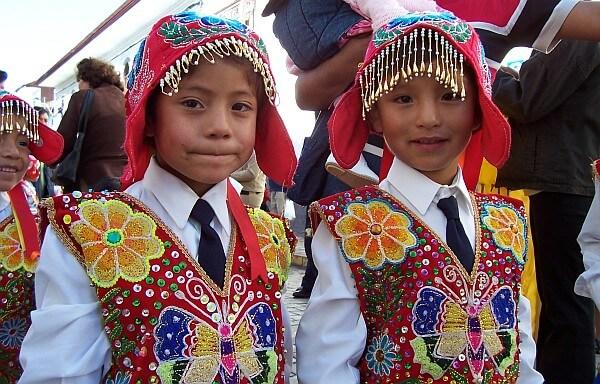 Cusco kids Peru