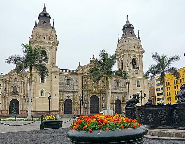 touring Lima in Peru