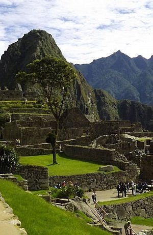 vacationing in Machu Picchu, Peru - one of the great wonders of the world