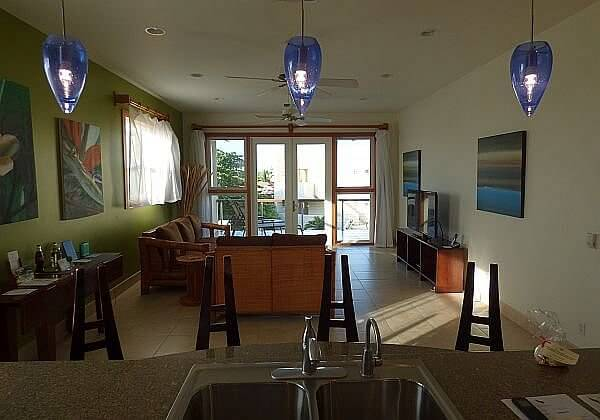 Phoenix Resort Belize condo living room