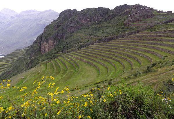 hiking to Picac in the Sacred Valley of Peru