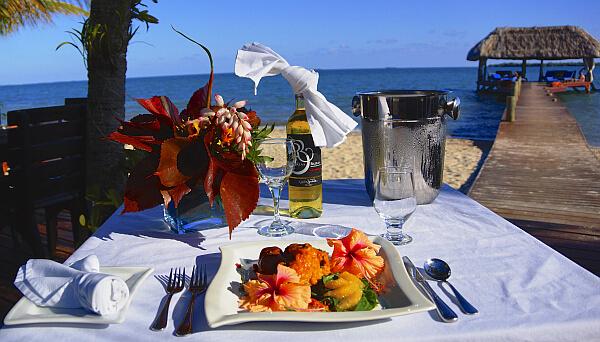 Belize fine dining