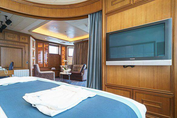 Owner's Suite M/V Sea Spirit Poseidon