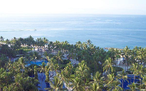 View from Westin Resort Puerto Vallarta in the Marina area