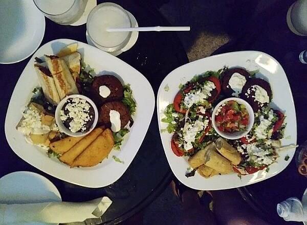 bar food at Quinta Real hotel in Villahermosa, Tabasco, Mexico