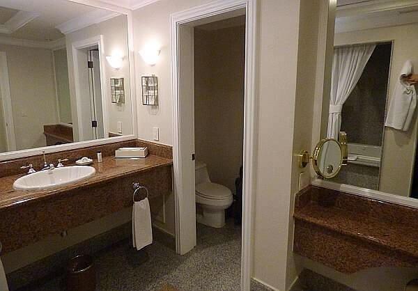 Quinta Real Villahermosa bathroom, Tabasco state hotel