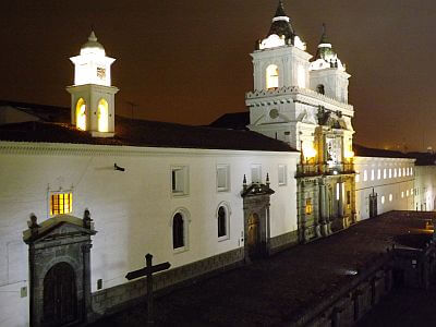 view from Casa Gangotena