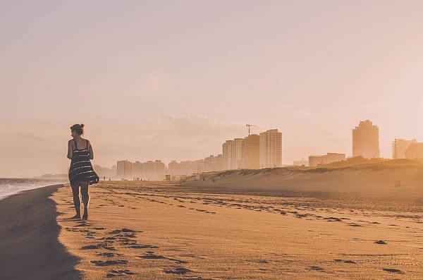 Punta de Este beach