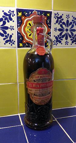 Mexican Ron Prohibido rum