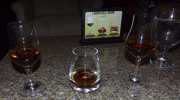 Guatemala City rum room