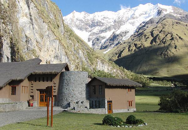 lodge to lodge trek Peru