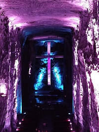 Colombia salt mine church