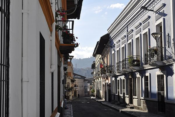San Marcos neighborhood of Quito Ecuador