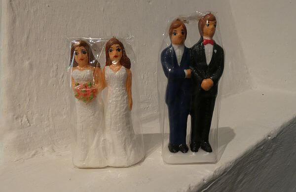 Mixta store gay marriage candles