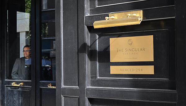 Singular boutique hotel