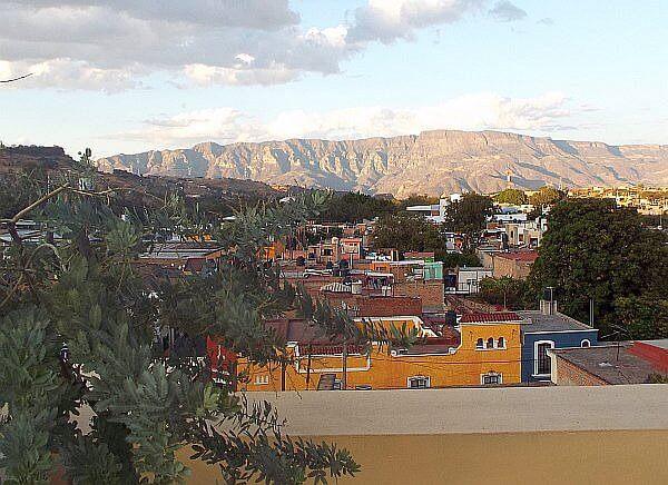 View from Solar de las Animas in Tequila