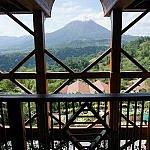 Springs Resort and Spa view of Arenal Volcano