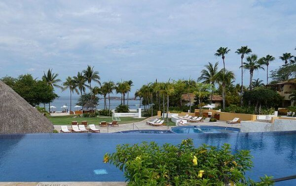 Punta Mita St. Regis Resort view from pool