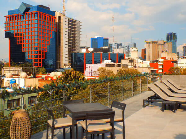 Mexico City luxury boutique hotel