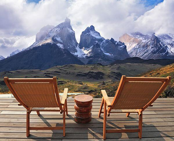 Torres del Paine view in Chile on a build your own adventure