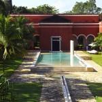 luxury hacienda hotel near Merida