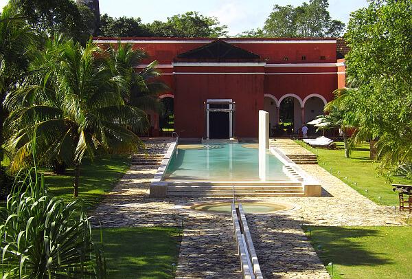 luxury hacienda hotel