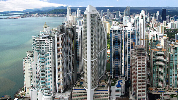 Panama City Luxury Hotel tower