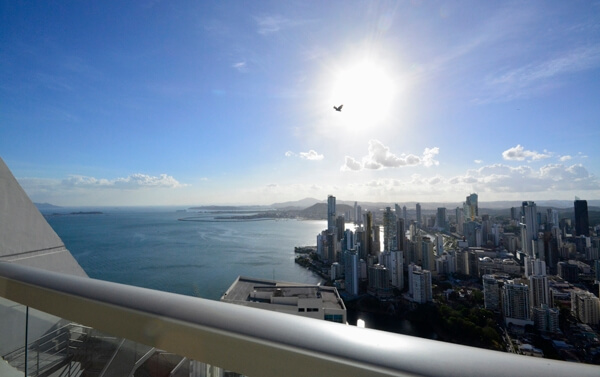 Panama City luxury view