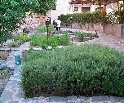 las ventanas herb garden