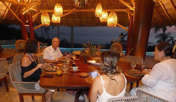 luxury villa rental with chef