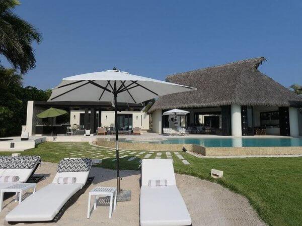 Casa Fortuna villa Punta Mita pool area