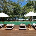 beach club at W Costa Rica Reserva Conchal
