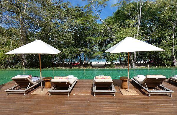 beach club at W Costa Rica Reserva Conchal