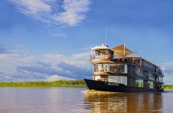 Amazon luxury river cruise