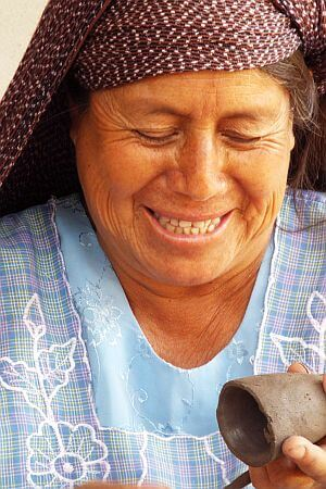 Oaxacan crafts pottery