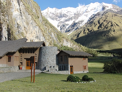 Luxury lodge Peru
