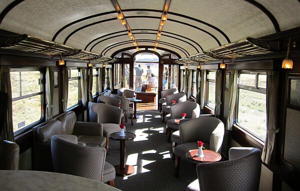 luxury train travel Peru